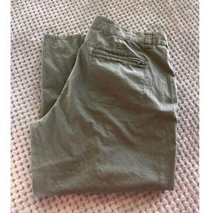 Route Pants - 3/$10 Route Army Green Capri Pants Size 14